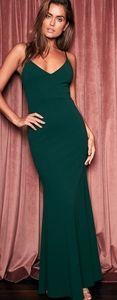 Lulu's Infinite Glory Maxi Green Dress